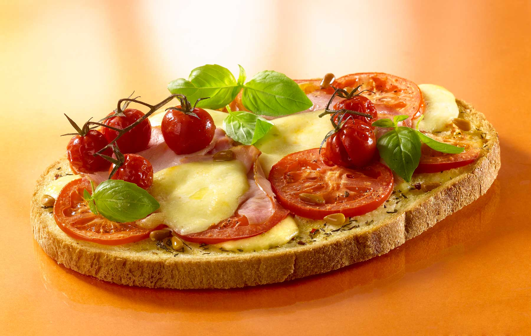 Accueil > Our recipes > Tomato and Mozzarella Bruschetta